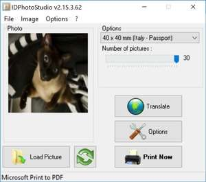 IDPhotoStudio Screenshot