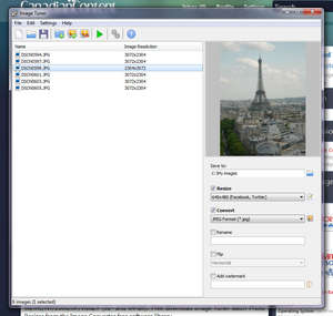 Image Resizing - Screenshot for Image Tuner Batch Photo Resizer