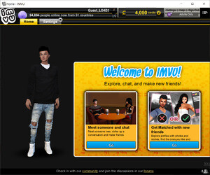 Instant Messaging - Screenshot for IMVU