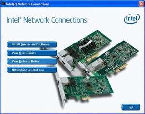 Intel Network Adapter Driver Screenshot
