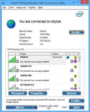 Intel pro wireless drivers download.
