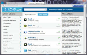 Internet Browsers - Screenshot for Internet Explorer 10
