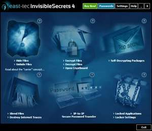 Invisible Secrets Screenshot