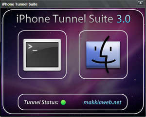 iPhone Tunnel Suite Screenshot