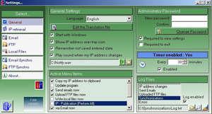 IPsynchro Screenshot