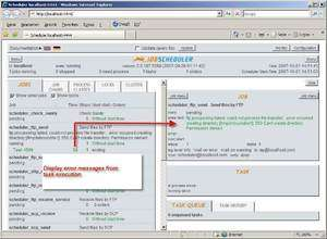 Schedulers - Screenshot for Job Scheduler