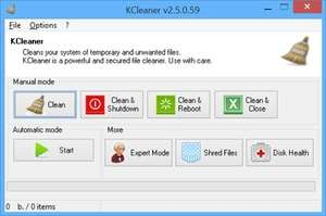 KCleaner Screenshot