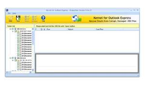 Kernel Outlook Express - Email Recovery Screenshot