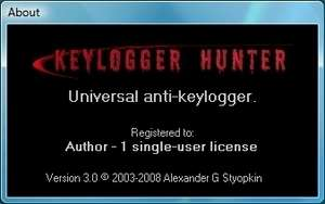 Keylogger Hunter Screenshot