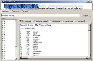 Keyword Crawler Screenshot