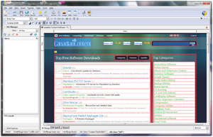 HTML Editors - Screenshot for KompoZer Web Authoring