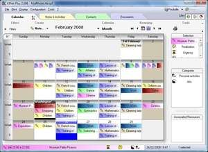 File Organizers - Screenshot for kplan personal