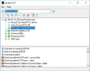 Network Auditing - Screenshot for LanSpy