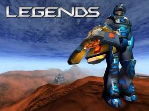Legends: The Game Screenshot