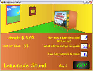 Lemonade Stand Screenshot