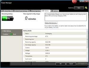 Lenovo Power Management Driver Screenshot