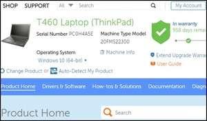Lenovo Service Bridge Screenshot