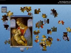 Puzzle Games - Screenshot for Leonardo Da Vinci Free Puzzle Game