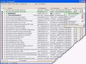 Spam Filters - Screenshot for Letterman Spam Control Pro