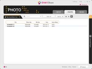 Media Servers - Screenshot for LG Smart Share