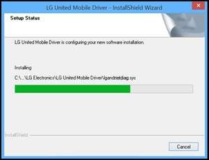Drivers - Screenshot for LG United Mobile Driver