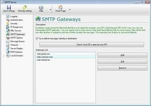 Local SMTP Server Pro Screenshot