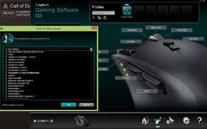 Logitech Gaming Software Screenshot