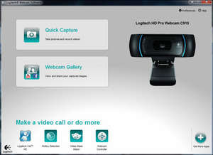 Logitech Webcam Software Screenshot
