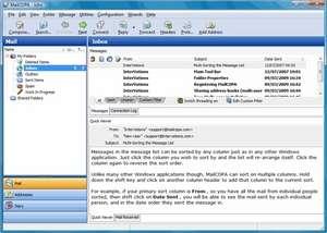 MailCOPA Email Client Screenshot