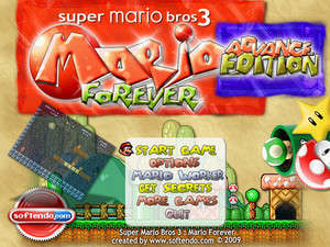 Arcade Games - Screenshot for Mario Forever v 4.0