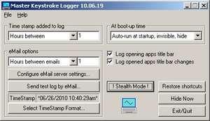 Master Keylogger Screenshot