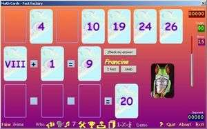 MathCards Screenshot