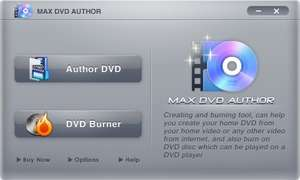 Max DVD Author Screenshot