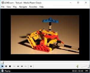 Media Players - Screenshot for Media Player Classic