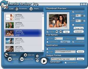 Media Resizer PRO thumbnail creator Screenshot