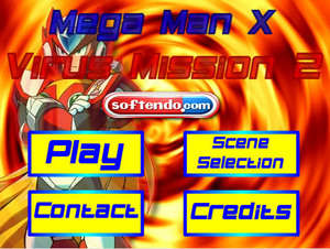 Arcade Games - Screenshot for Megaman Virus Mission (Fan Made)