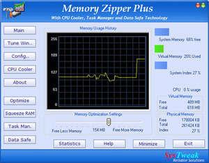 Memory Zipper Plus Screenshot