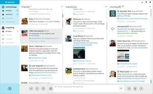 Instant Messaging - Screenshot for MetroTwit