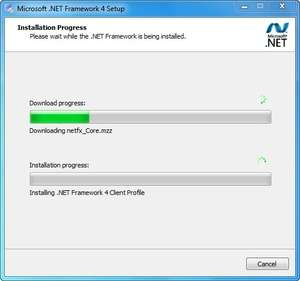 Additional Components - Screenshot for Microsoft .NET Framework 4