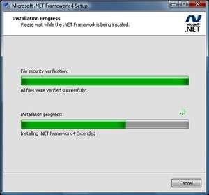Microsoft .NET Framework Extended Screenshot