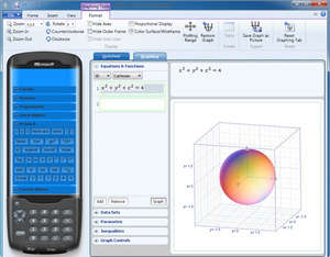 Microsoft Mathematics Screenshot