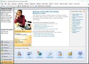 Accounting Software - Screenshot for Microsoft Office Accounting Express