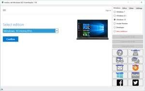 Windows ISO Downloader Screenshot