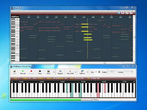 Music Software - Screenshot for MidiPiano