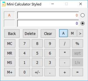 Calculators - Screenshot for Mini Calculator