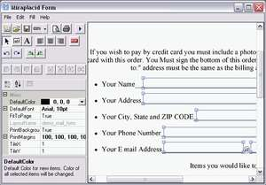 Internet Utilities - Screenshot for Miraplacid Form Lite