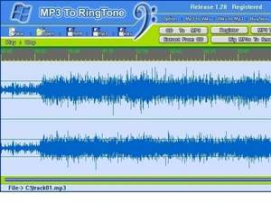 MP3 To Ringtone Screenshot