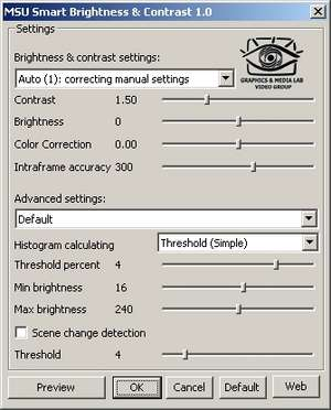 Font Utilities - Screenshot for MSU Smart Brightness & Contrast