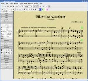 Musical Instrument Software - Screenshot for MuseScore