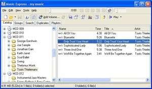 Music Express Screenshot